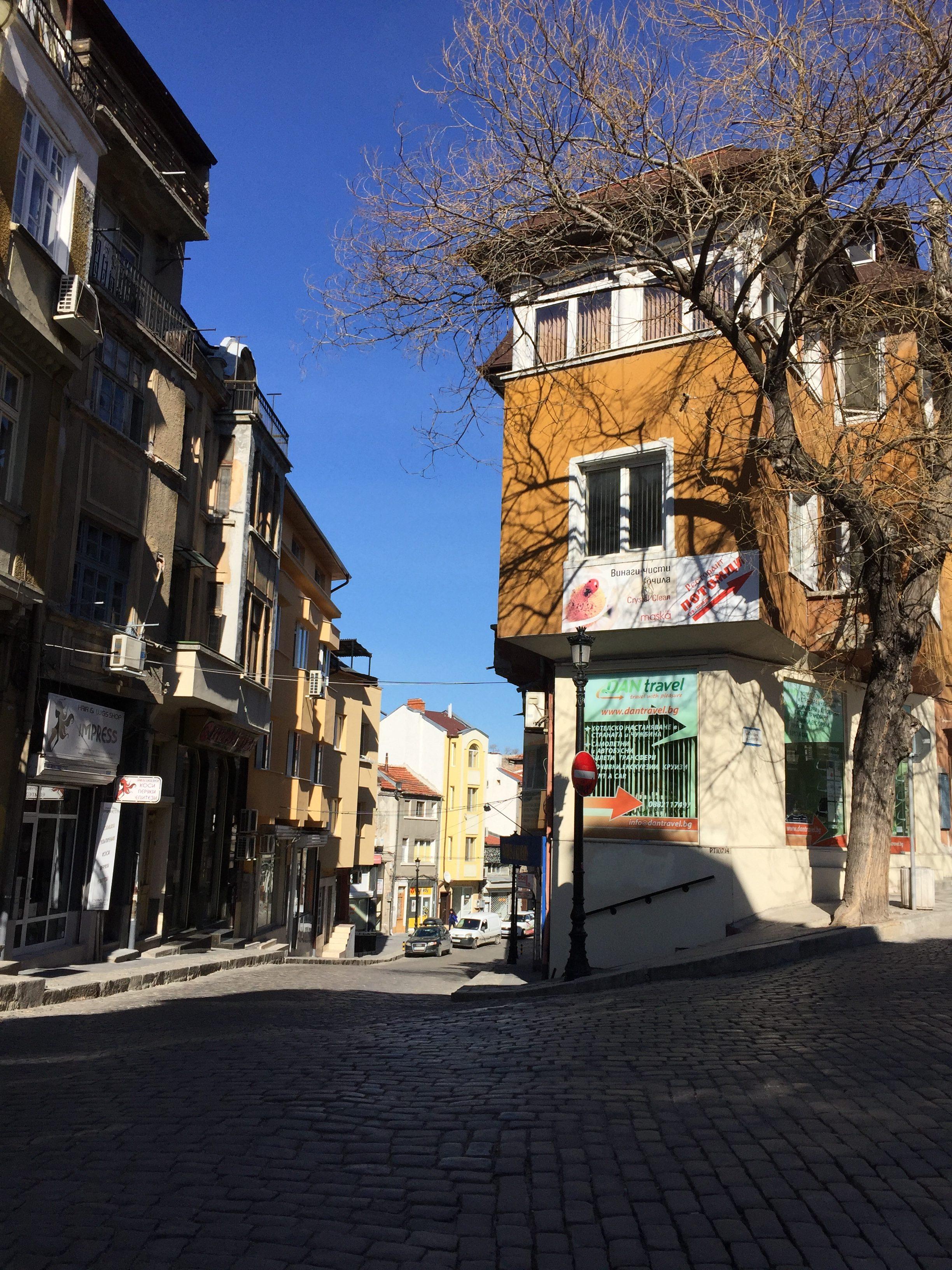 旧市街の入り口