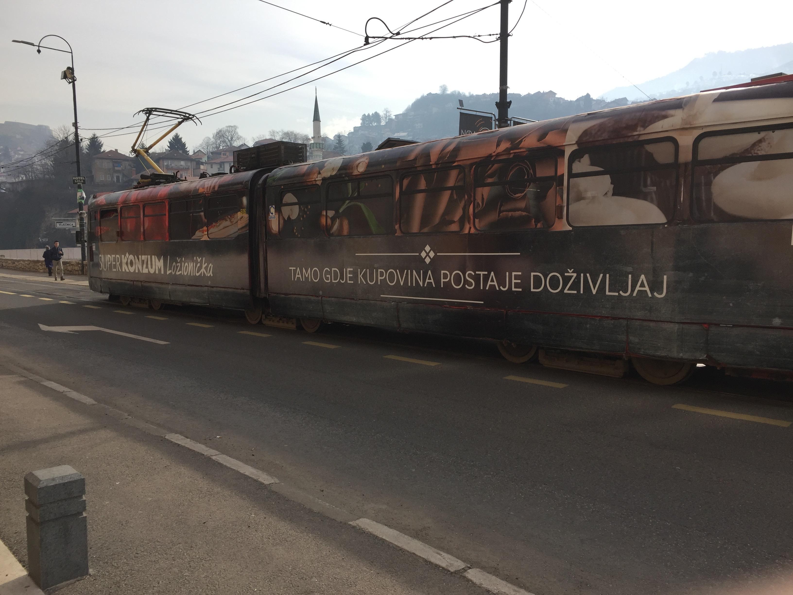 サラエボのトロリーバス