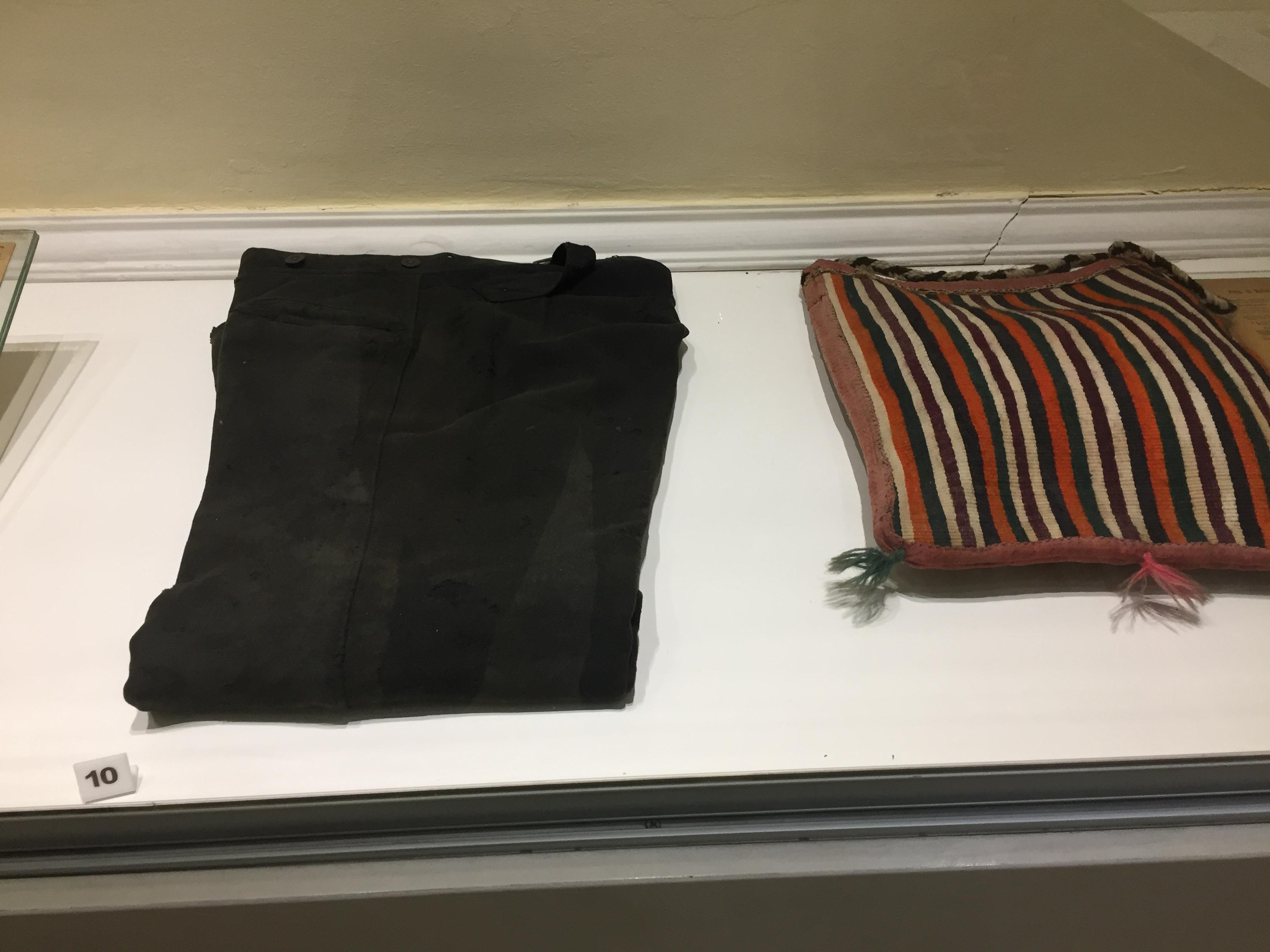 プリンツィプが暗殺時に着用していたズボン