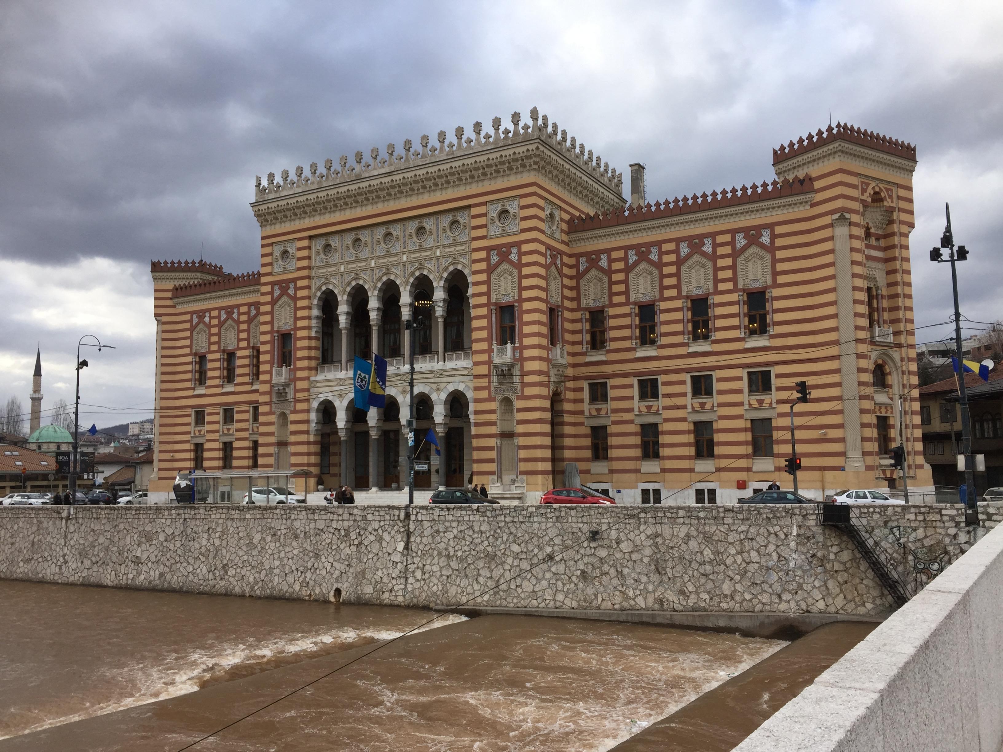 サラエボのシティ・ホール