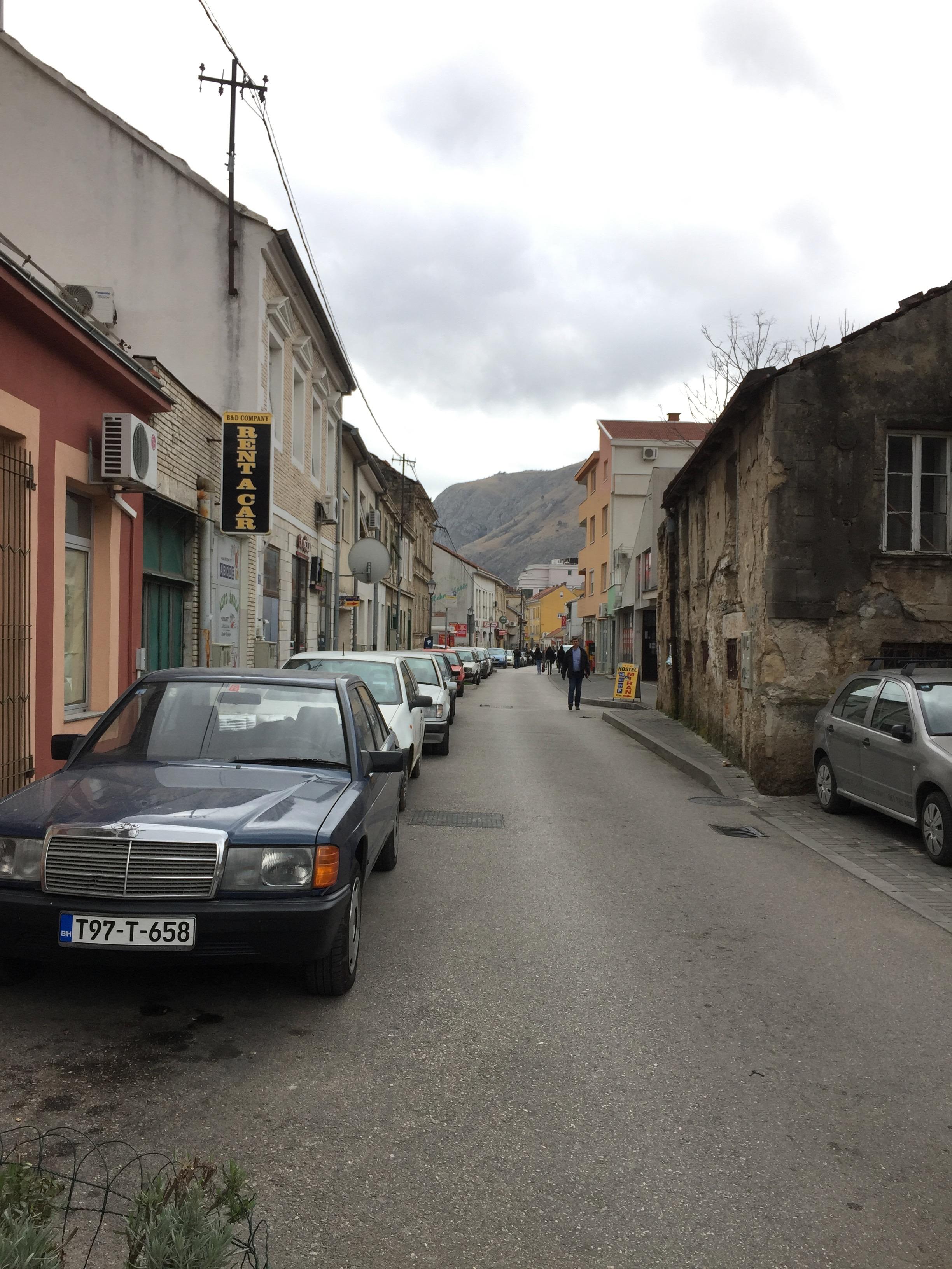 旧市街に行く通り1