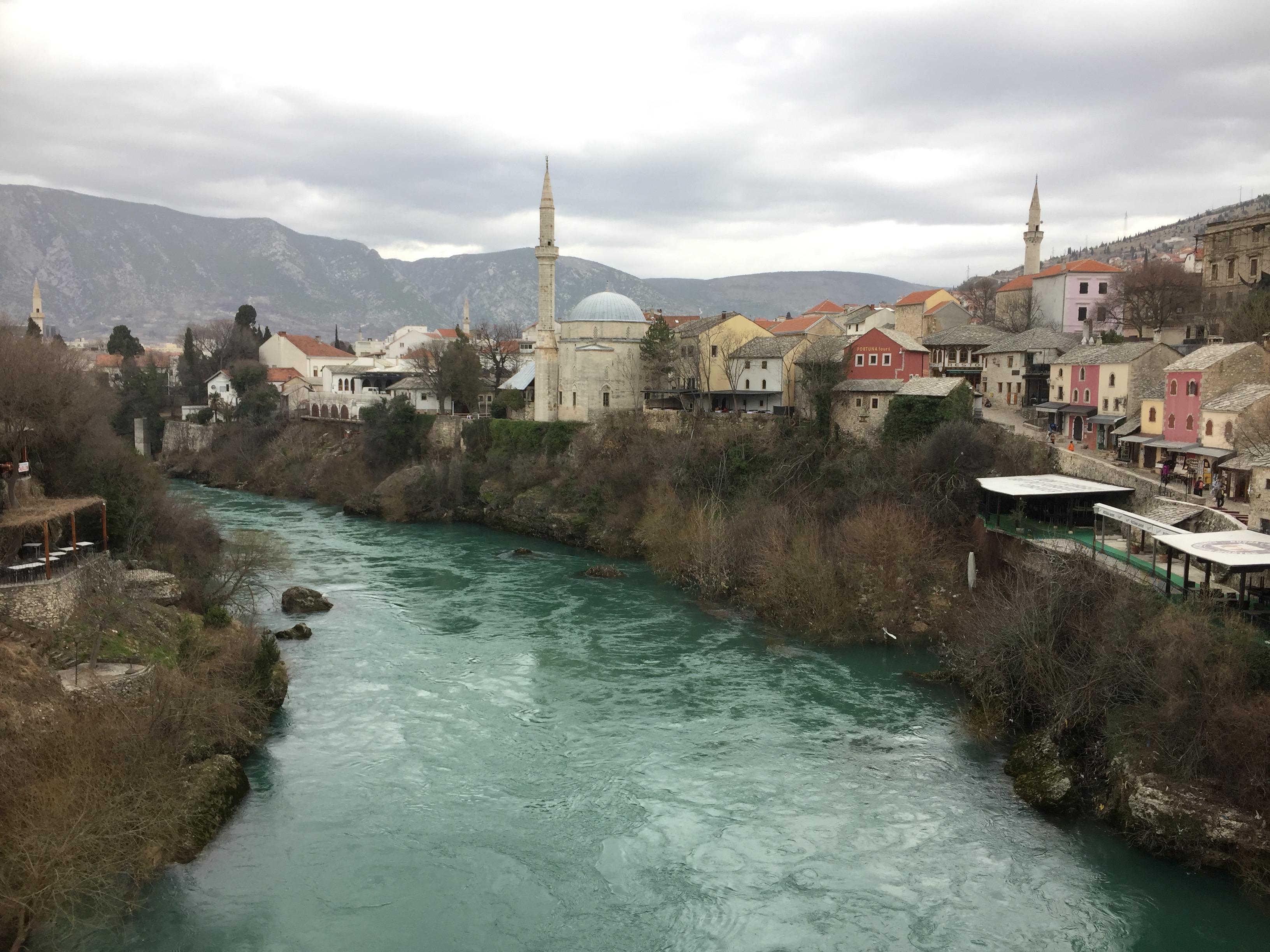 川周辺の眺め