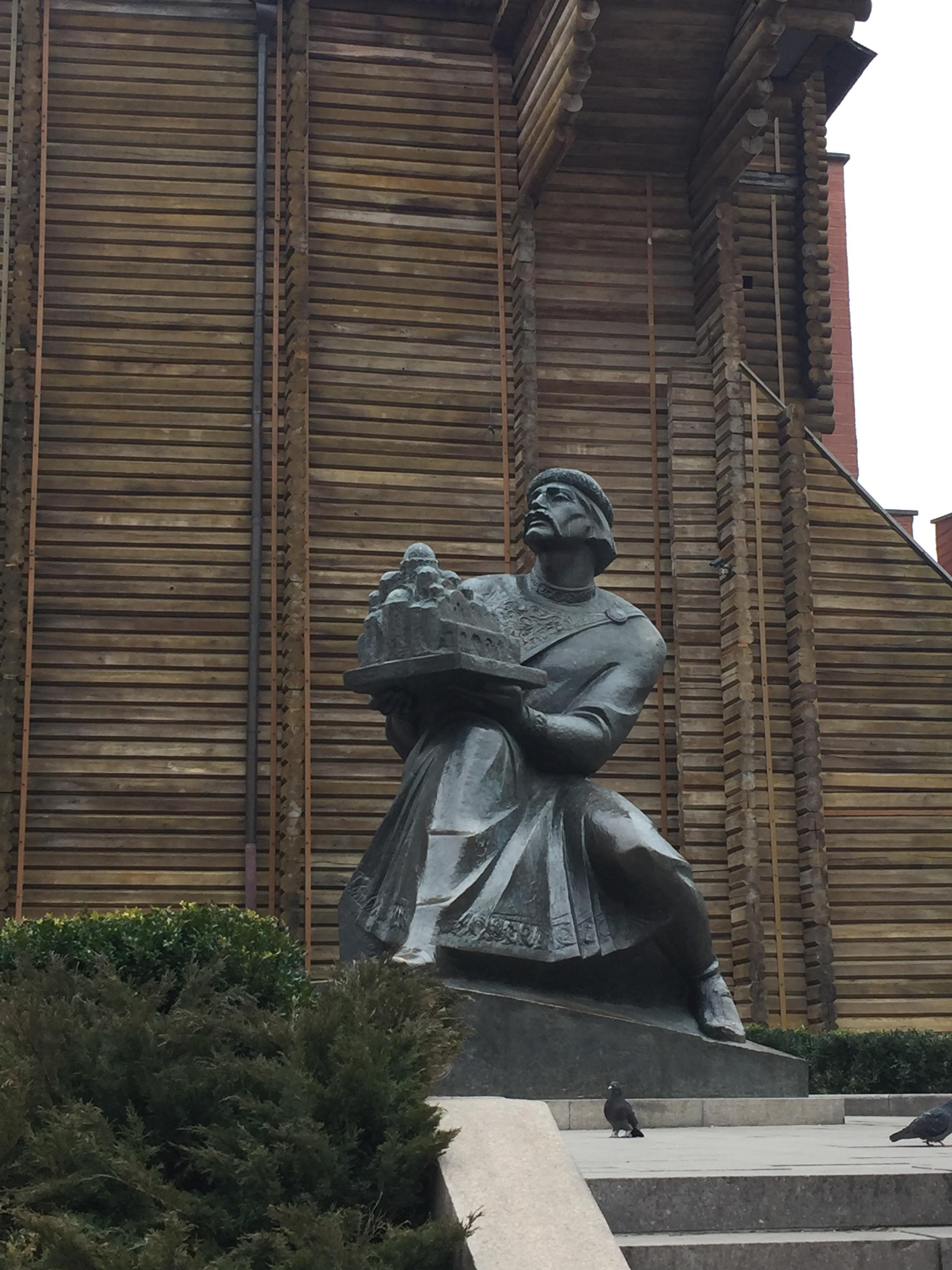 ヤロスラフ賢公の像