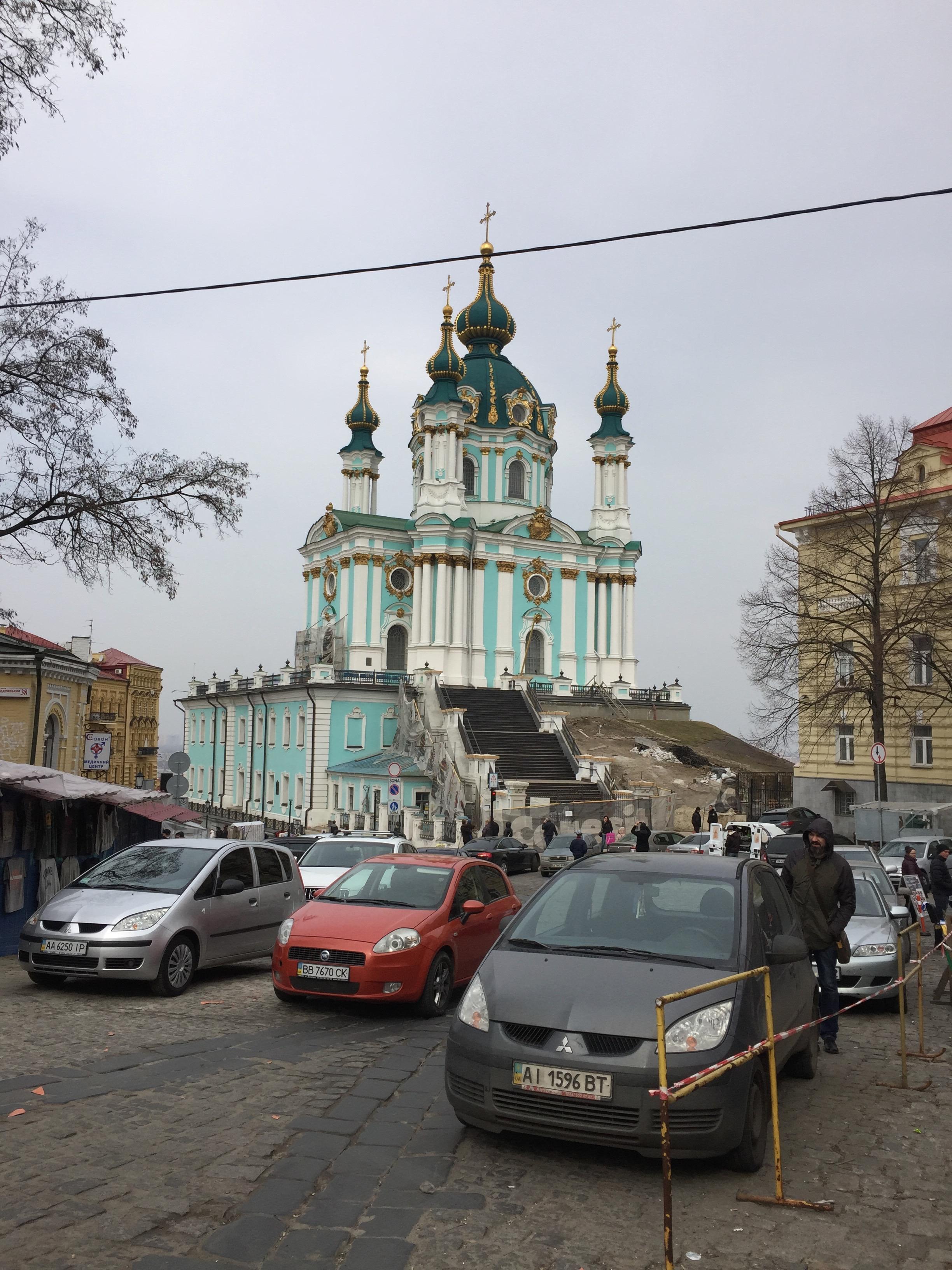 聖アンドレイ教会2