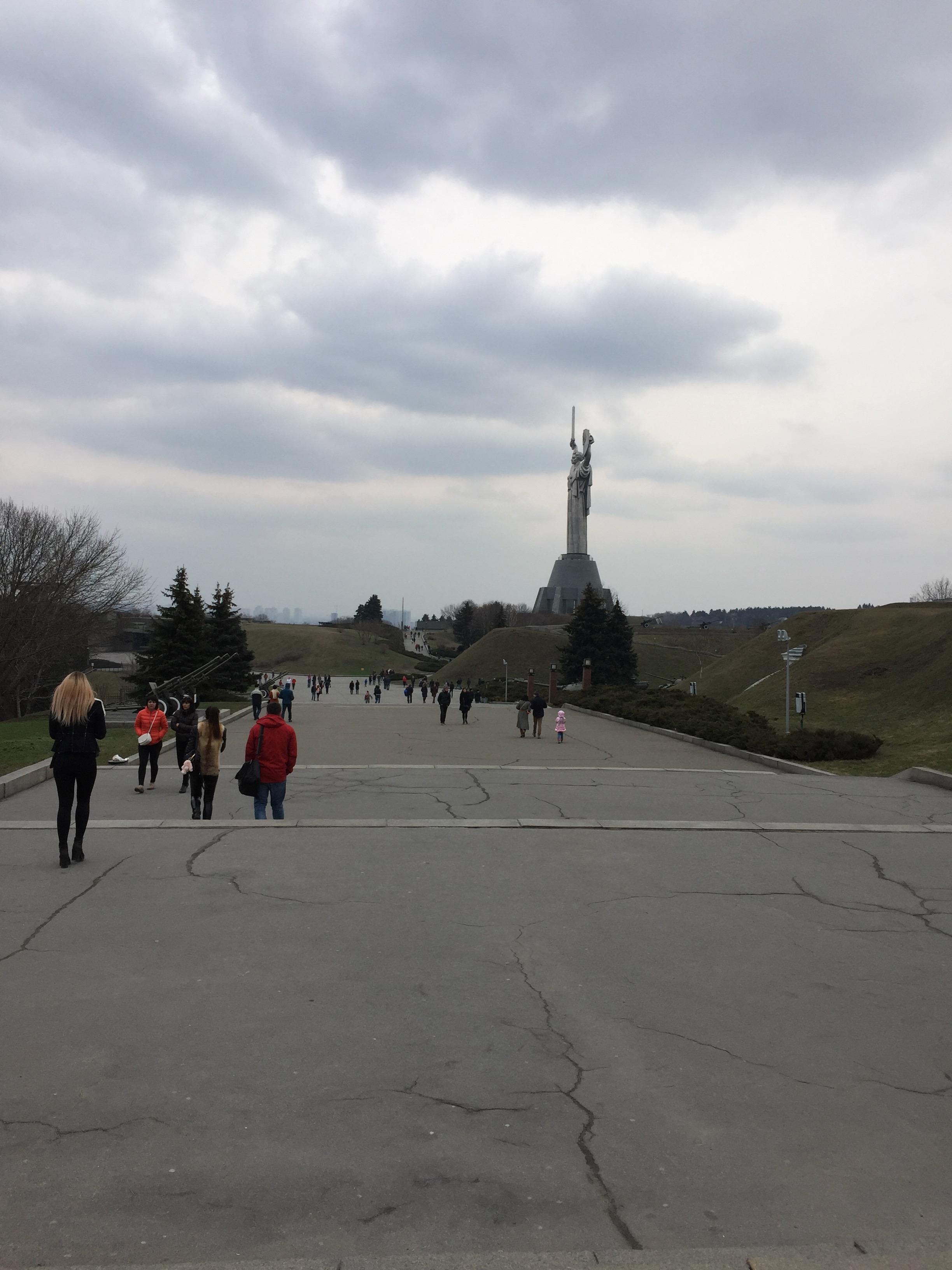 大祖国戦争の永遠の栄光の兵士の公園