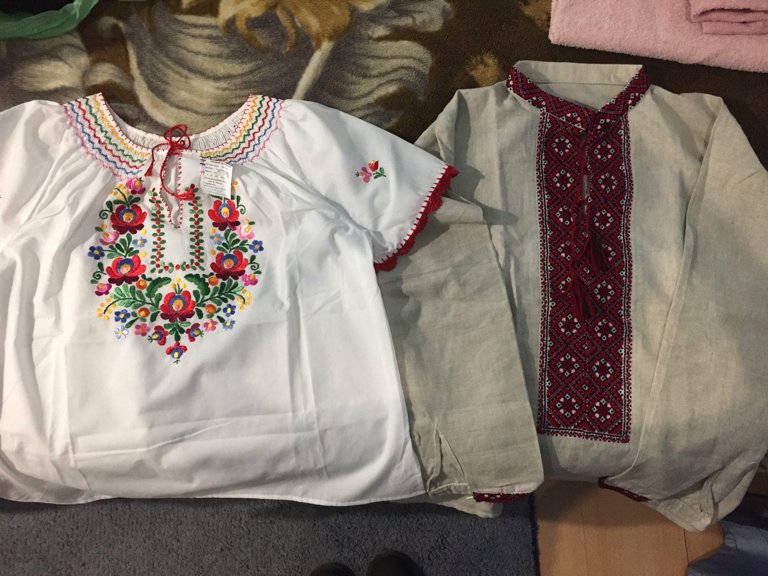 刺繍シャツのコレクションが増えた