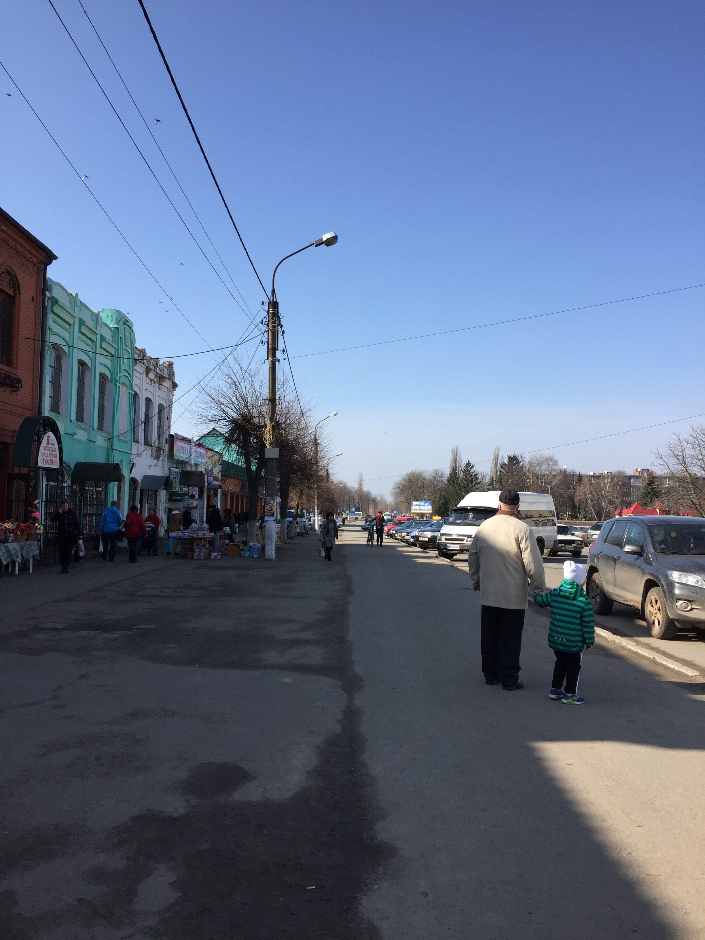 プチーヴリに到着した直後の写真