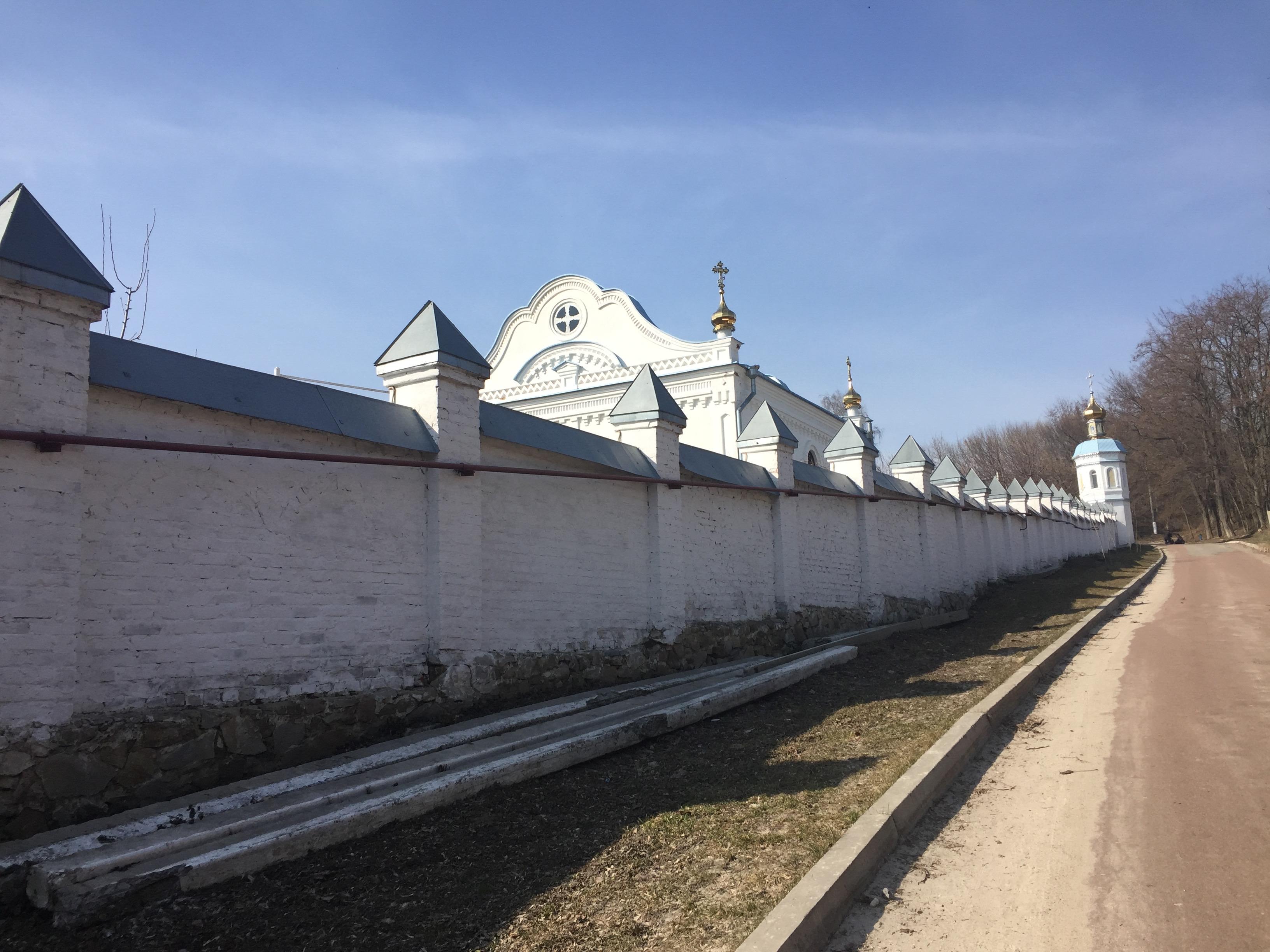 モルチェンスキー修道院の外壁