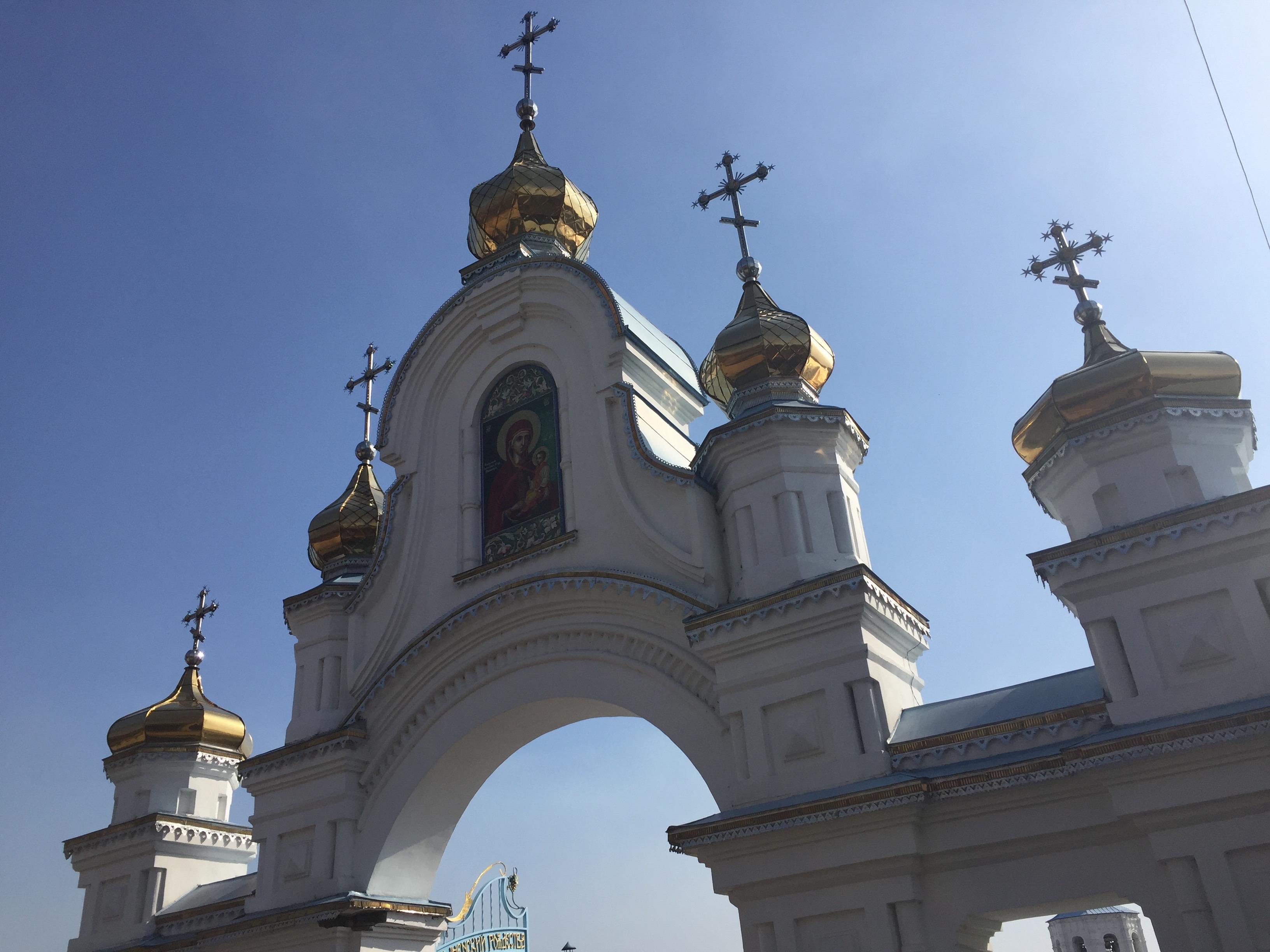 モルチェンスキー修道院の門