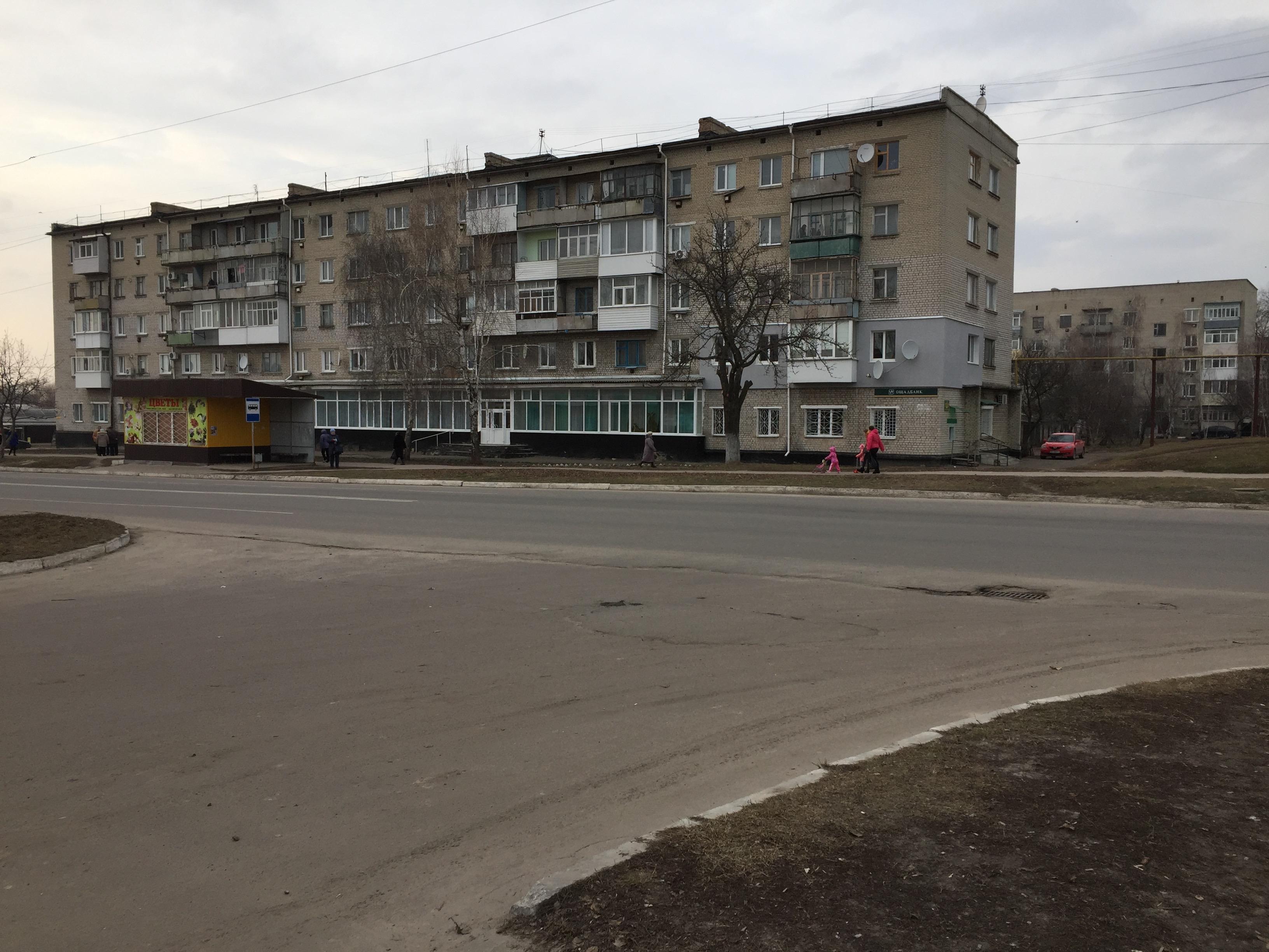 プチーヴリの集合住宅