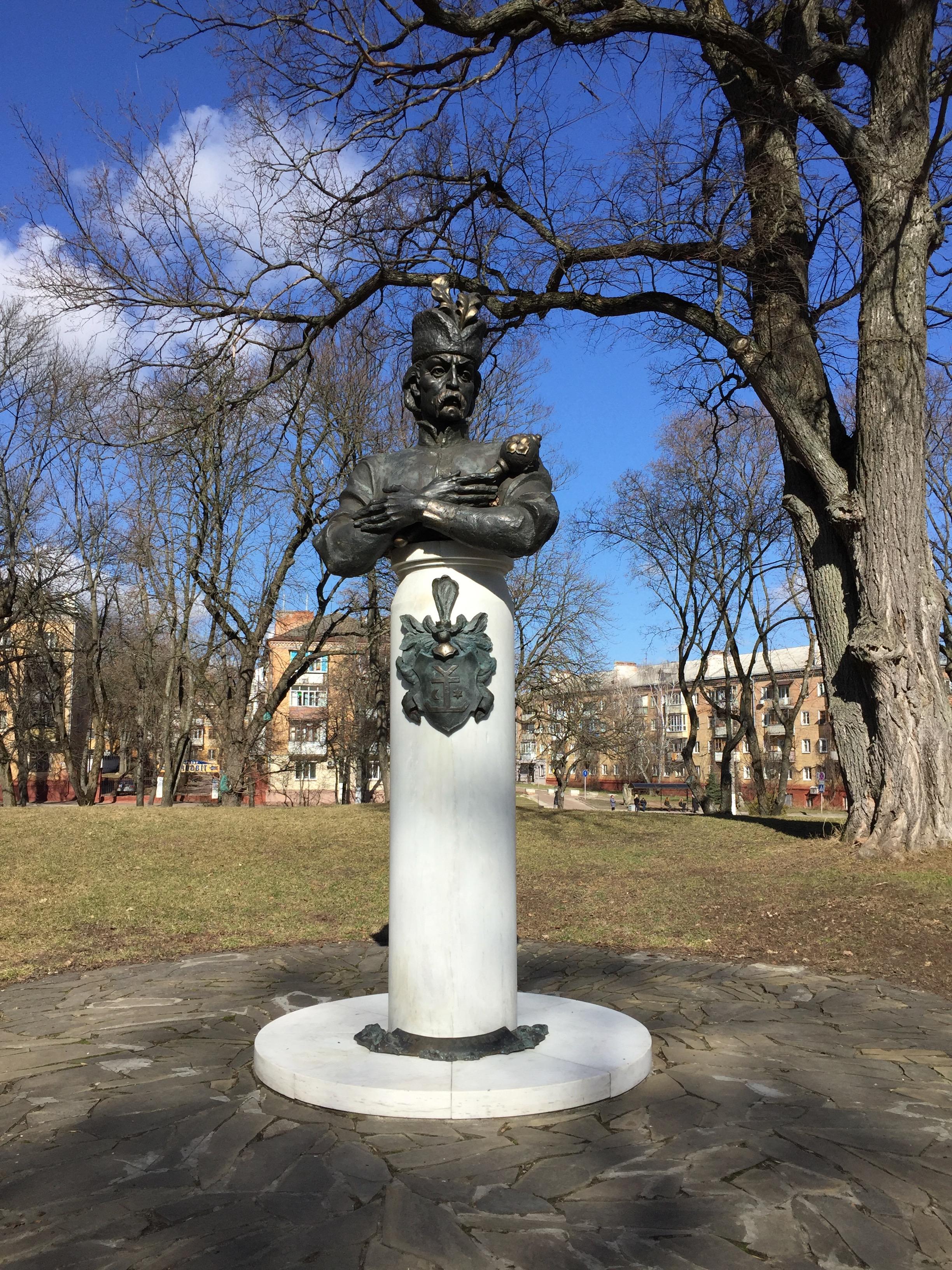 ゲトマンの胸像