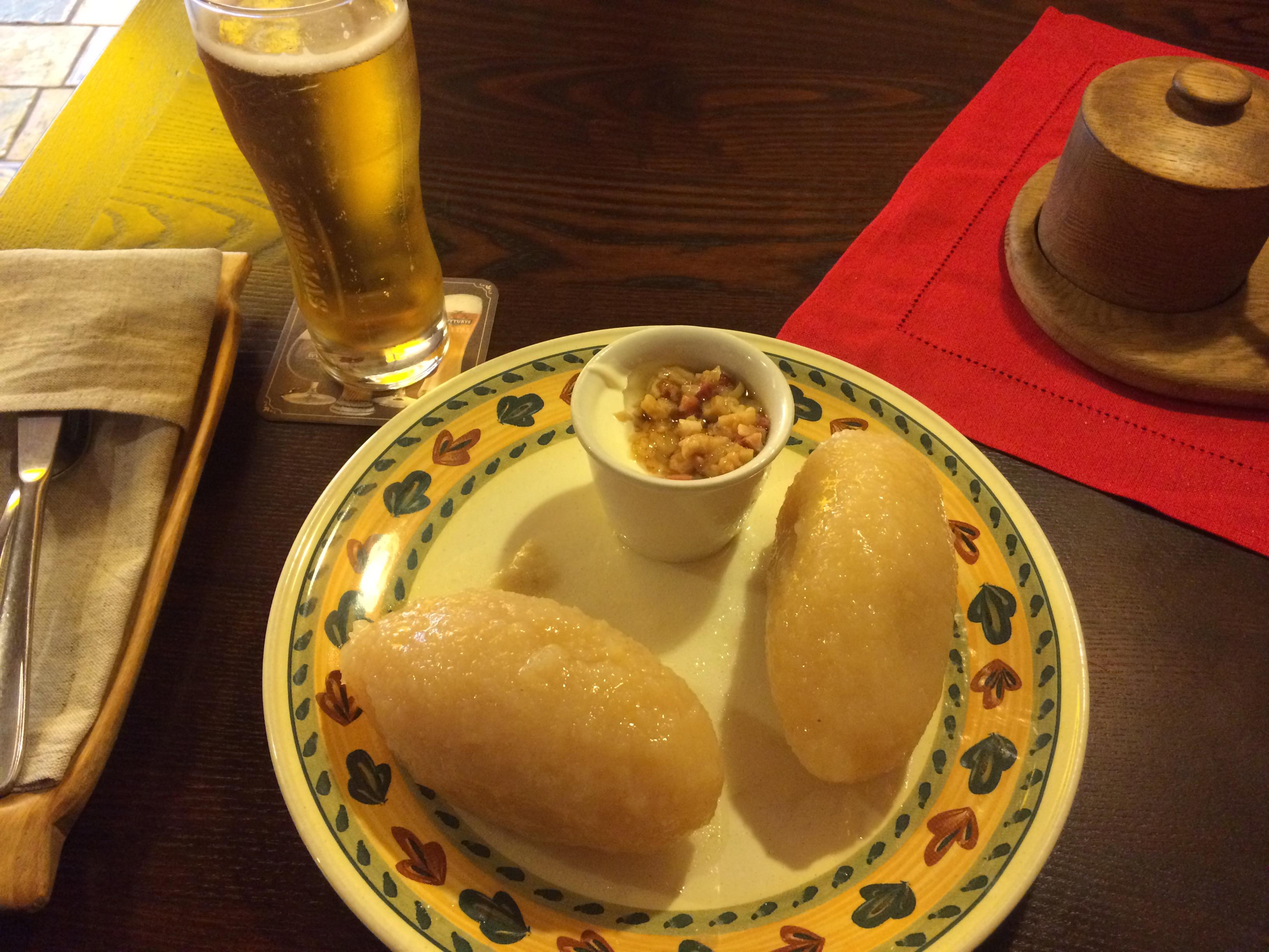 リトアニアの伝統料理ツェペリナイ