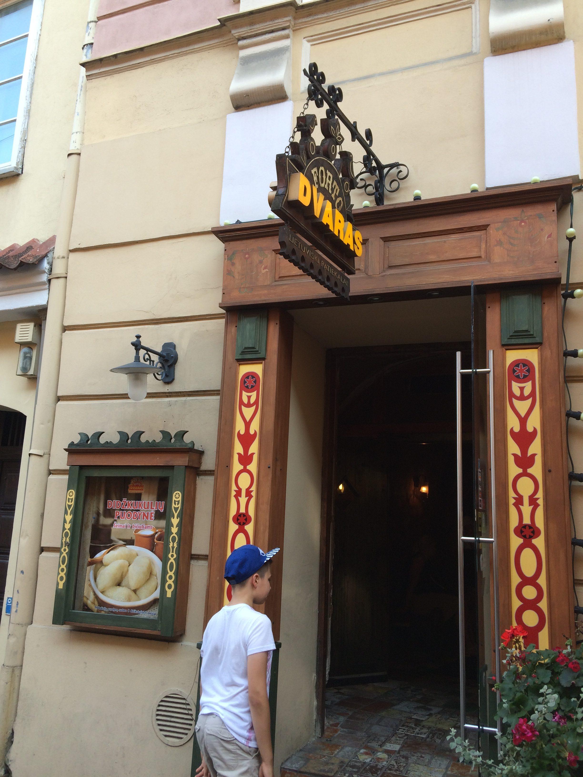 dvarasはリトアニア料理が楽しめるレストラン