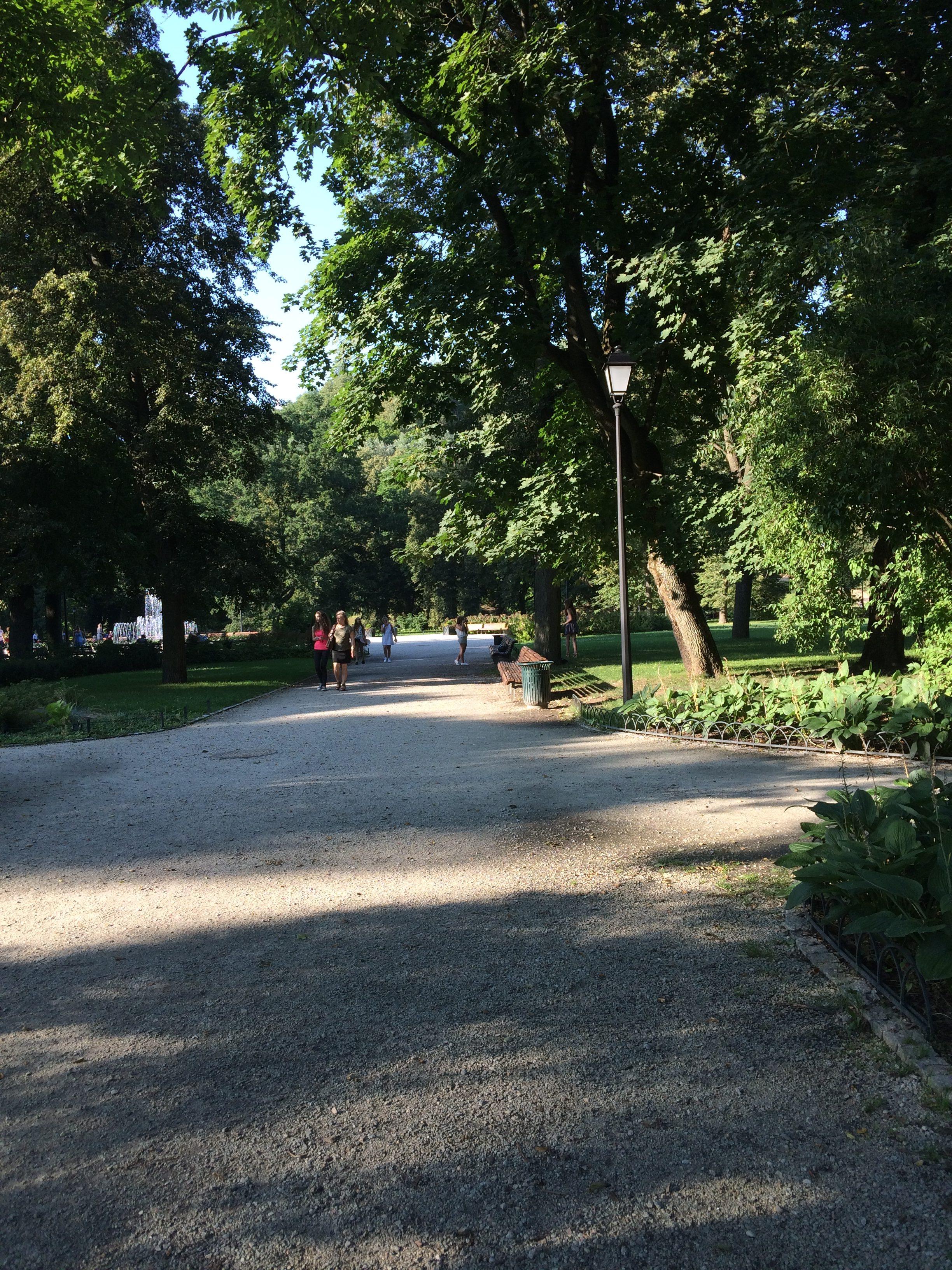 ヴィリニュスの中心にある大きな公園