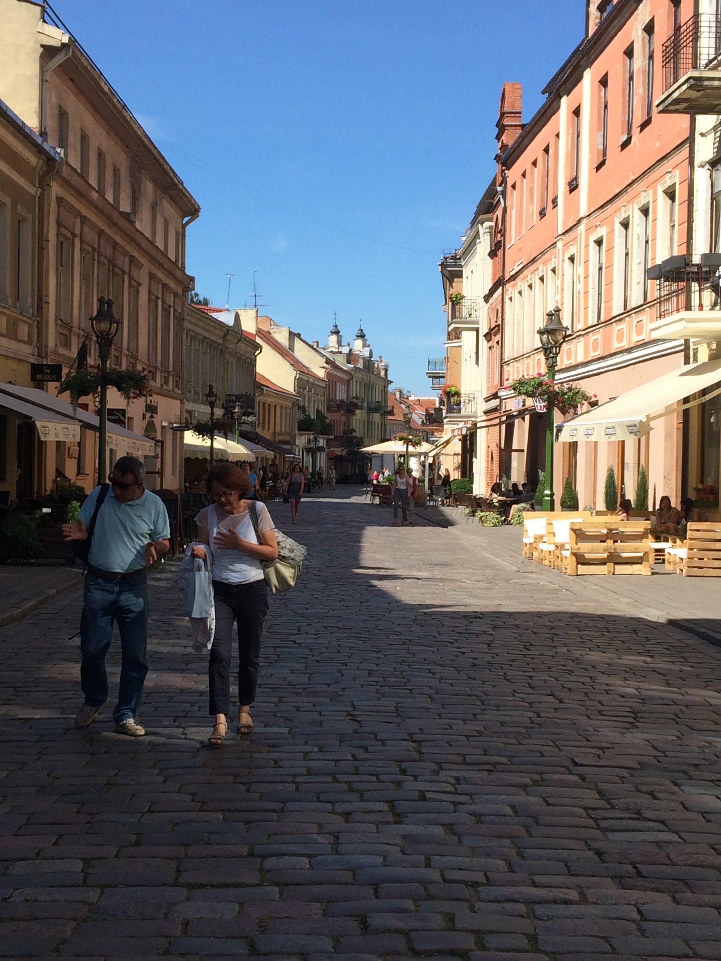 カウナスの旧市街