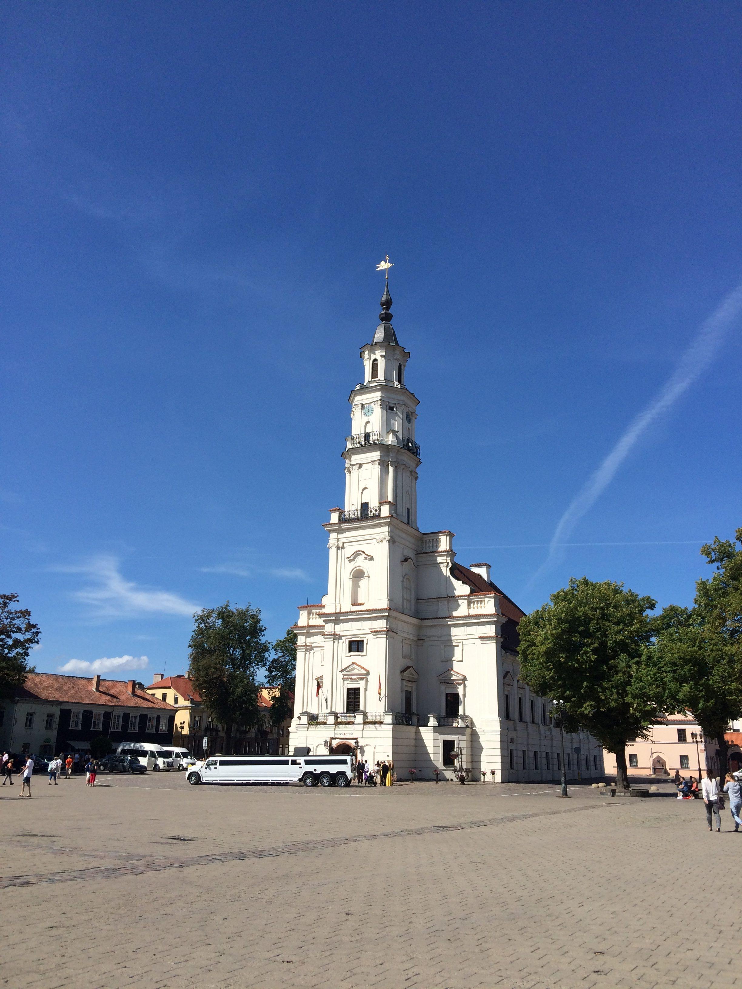 カウナスの市庁舎