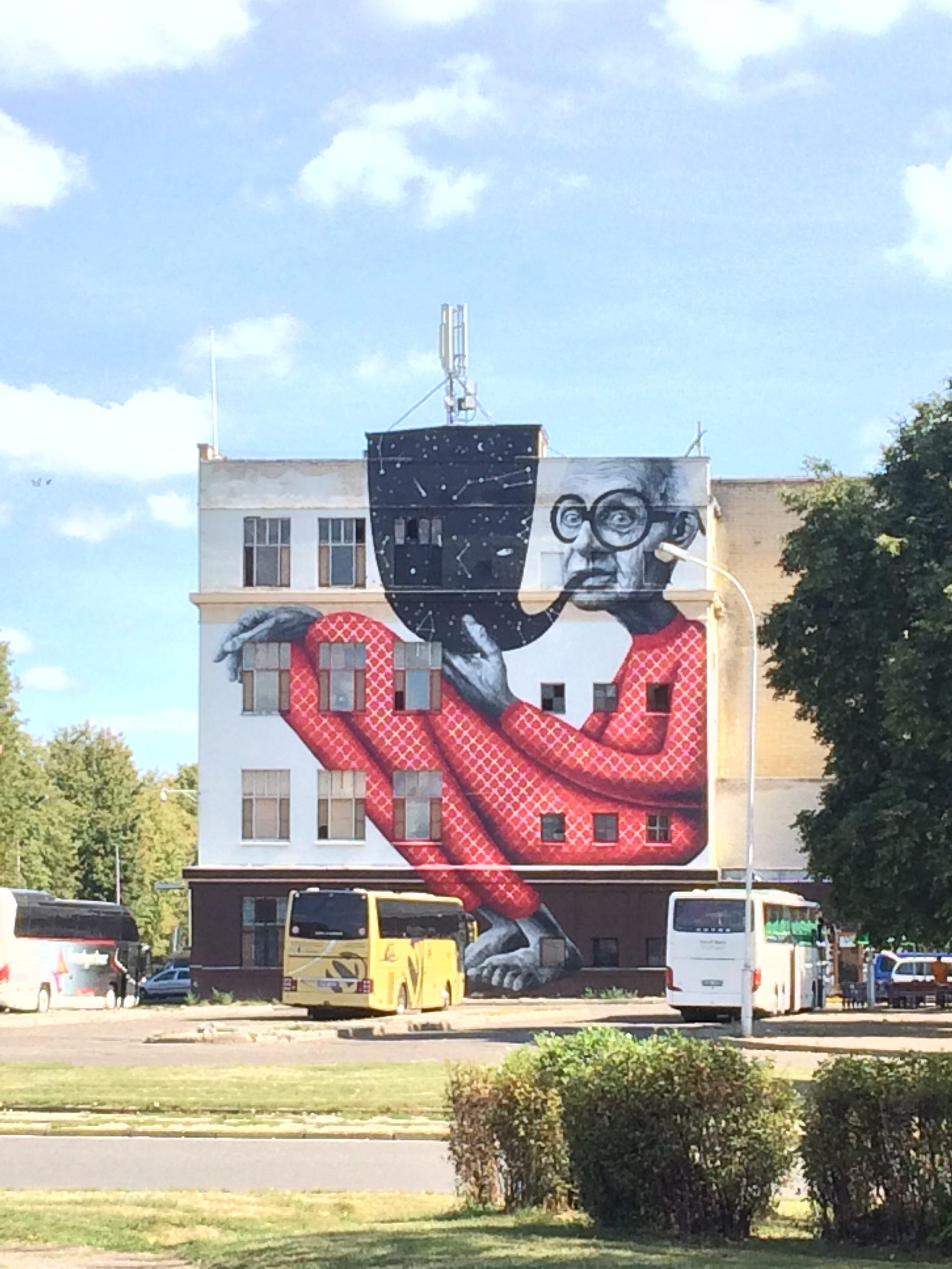 建物に描かれたストリートアート