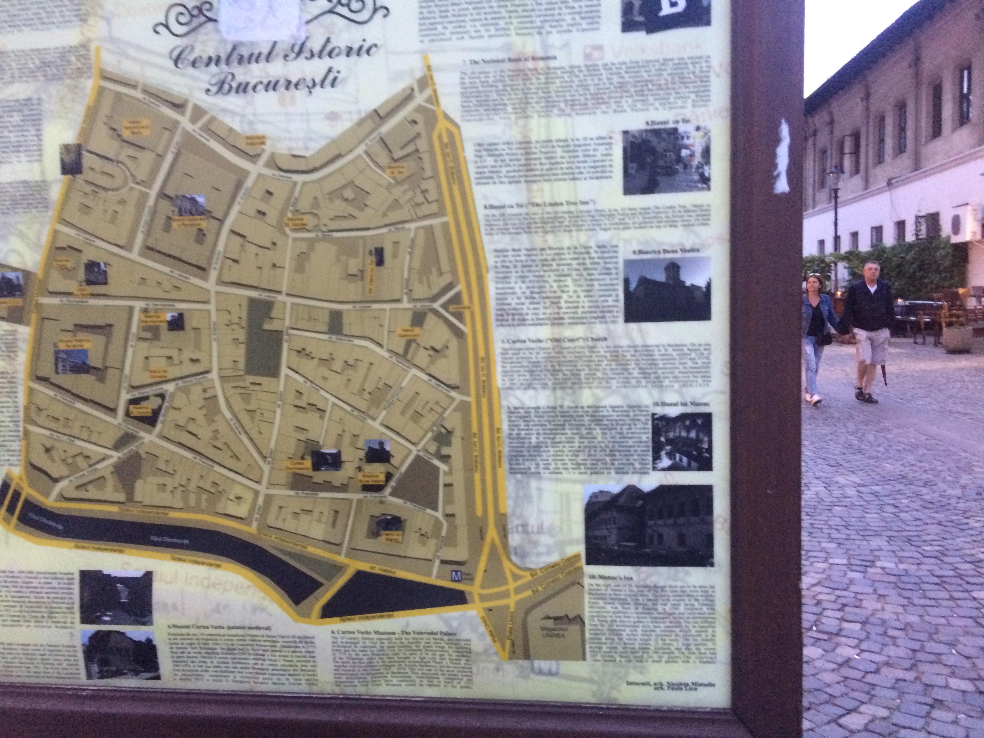 旧市街案内地図