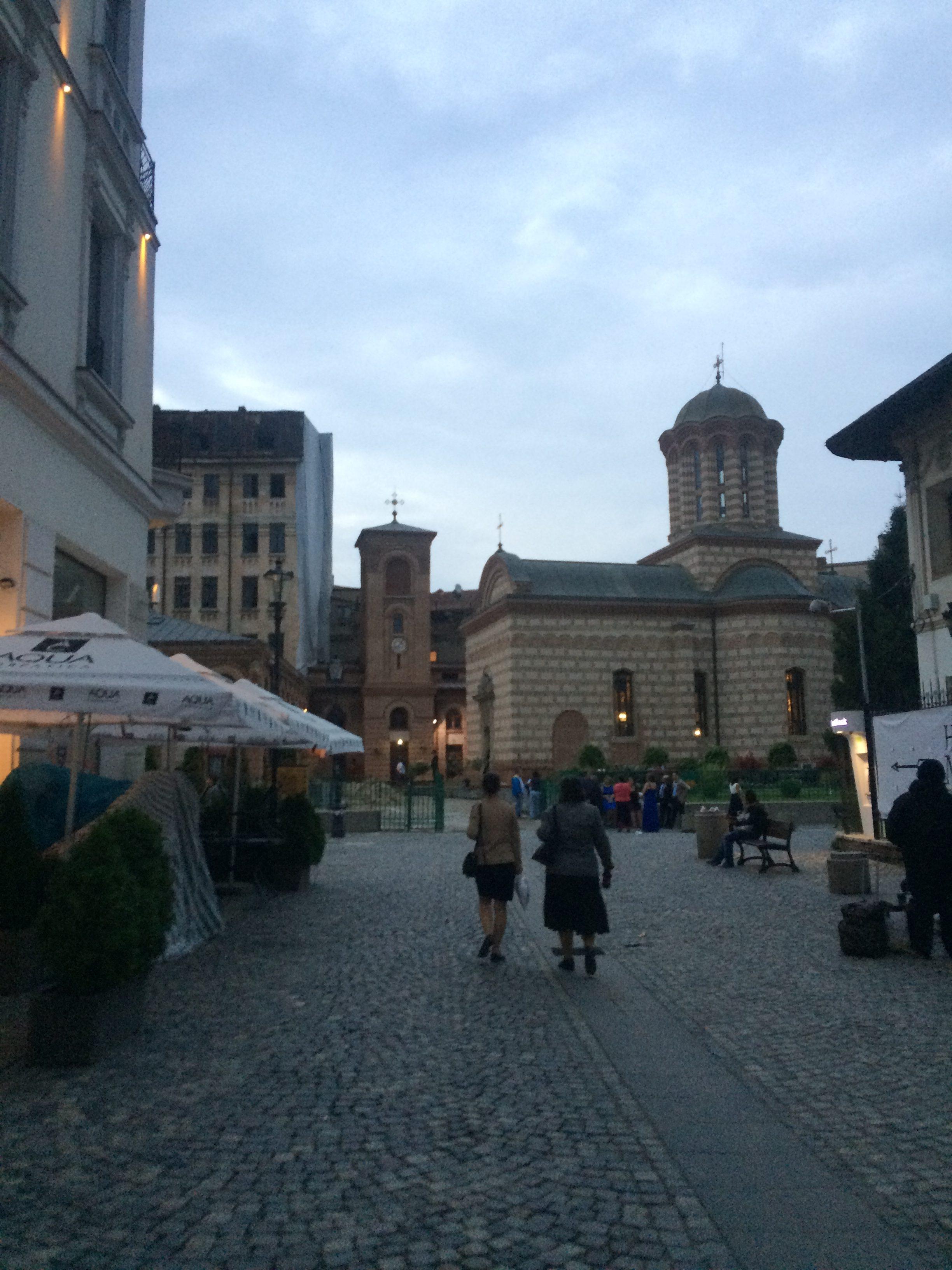 ブカレストの旧市街