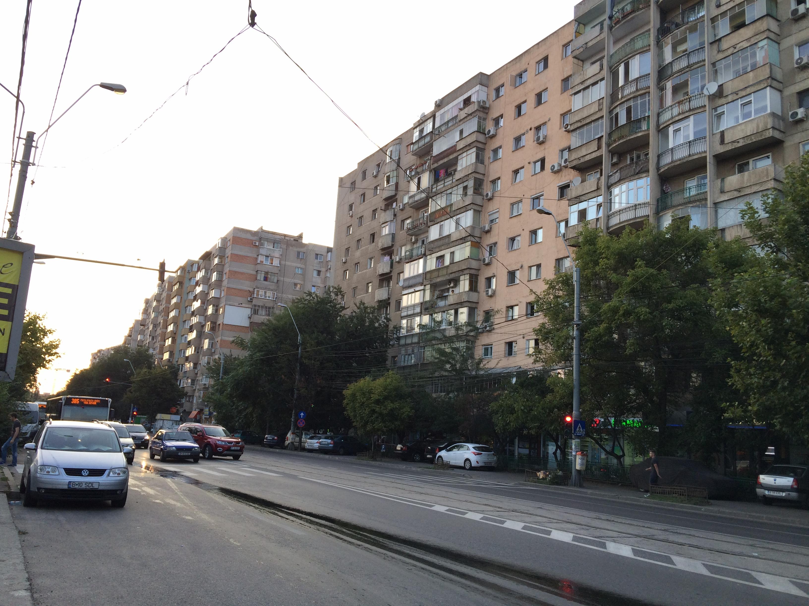 第6地区の集合住宅