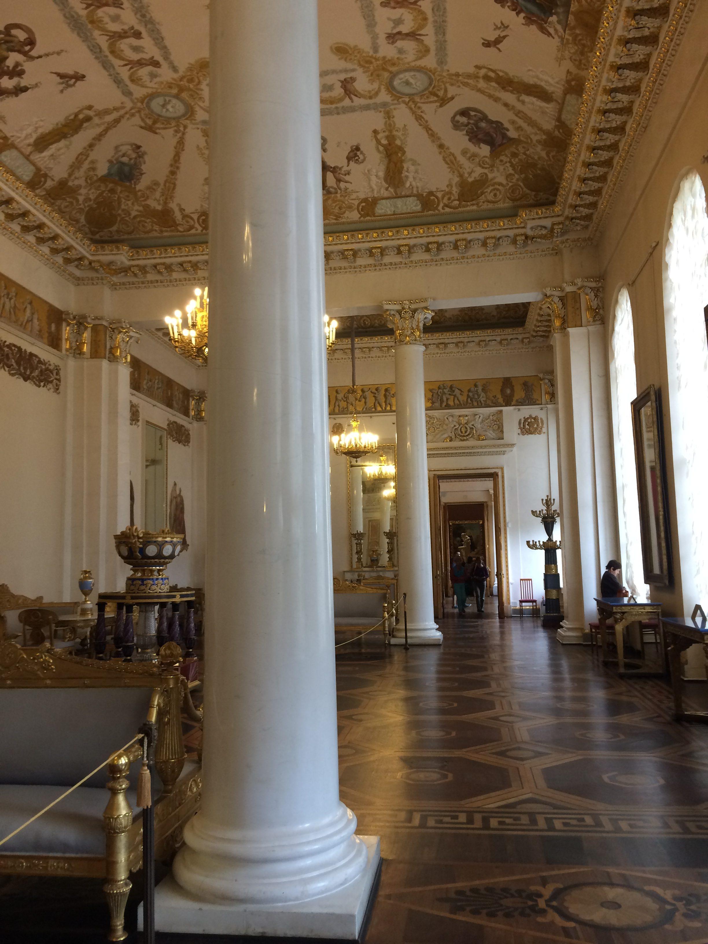 ロシア美術館の内観