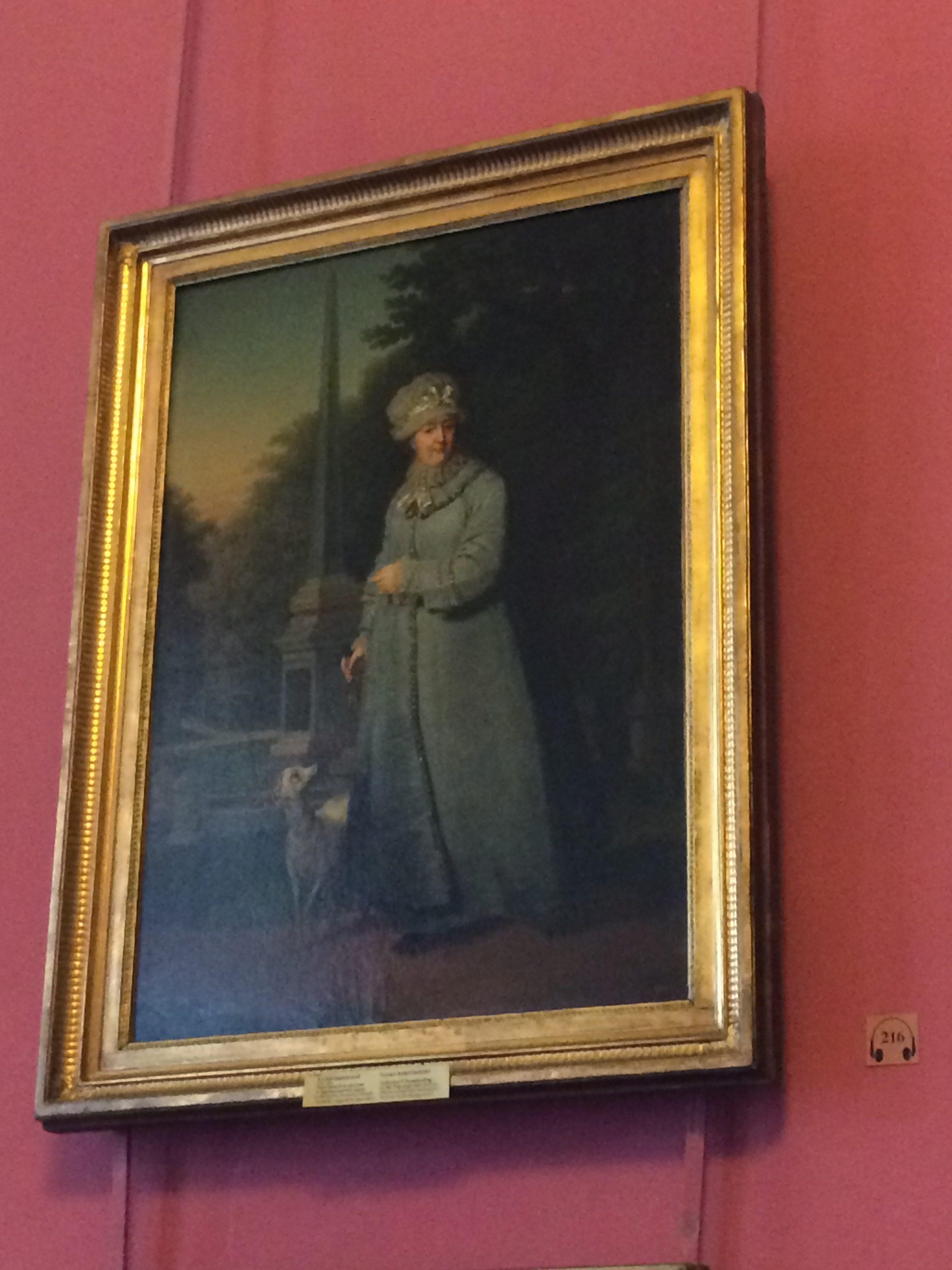 エカテリーナ二世の全身肖像画